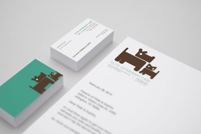 Veterinary business cards idealstalist veterinary business cards colourmoves